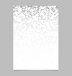 Abstract rounded square pattern page background vector