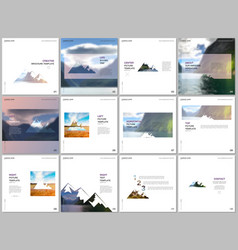 brochure templates covers design templates vector image