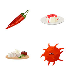 restaurant hygiene medicine and other web icon vector image