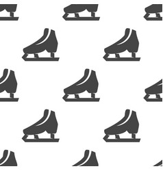 Skates seamless pattern vector