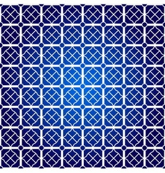 Square pattern on blue background vector