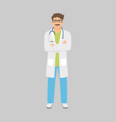 venereologist medical specialist vector image