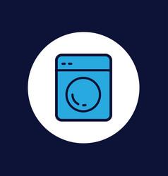 washing machine icon sign symbol vector image