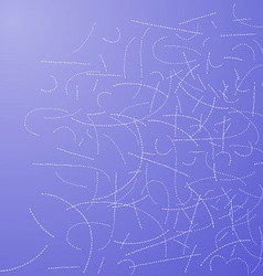 Dotted Lines Background vector image vector image