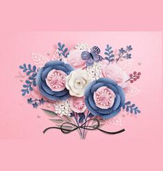 Beautiful floral boutique vector