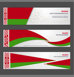 belarus independence day abstract background vector image