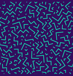 bright neon seamless trendy pattern - geometric vector image