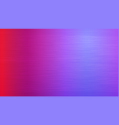 Brushed metal background magenta colorful texture vector