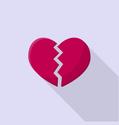 heartbreak icon set of great flat icons with vector image