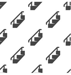 staircase seamless pattern vector image
