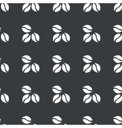 Straight black coffee pattern vector