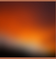 sunset blurred background vector image