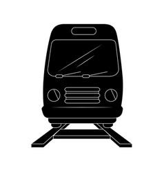 train icon image vector image