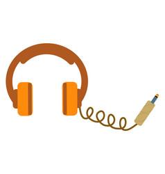 headphones isolated vector image