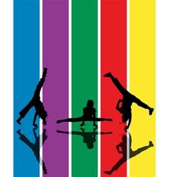 active children vector image
