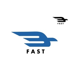 Fast delivery or ail mail icon vector image