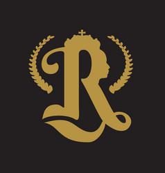 Royal crown logo vector