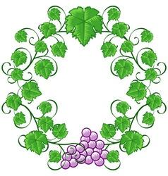 wine ornaments 03 vector image vector image