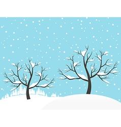 Winter2 vector image vector image