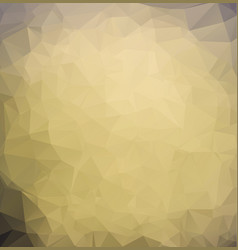 abstract dark brown polygonal which consist of vector image