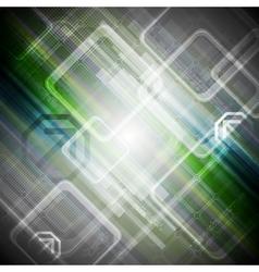 Abstract hi-tech background vector