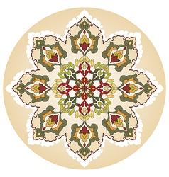 Antique ottoman turkish pattern design twenty nine vector image