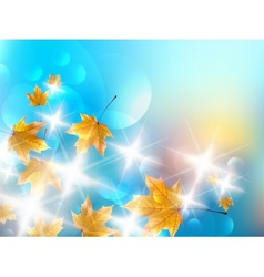 Autumn design background vector