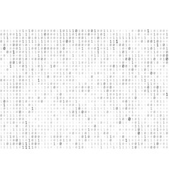 Binary code texture vector
