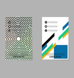 Brochure design template flyers report for vector