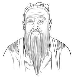 confucius vector image