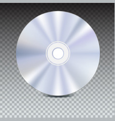 Dvd or cd disc blue-ray technology 3d vector