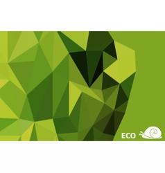 ecosnail vector image