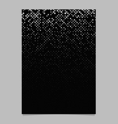 geometrical pattern brochure template - mosaic vector image