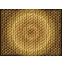 Golden Pattern background with circle light vector