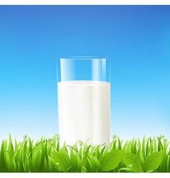 Milk Glass vector