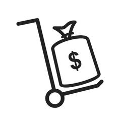 Money Transfer vector image