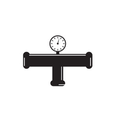 pipe plumbing icon graphic design template vector image