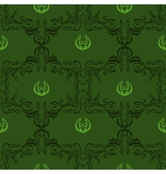 seamless floral pattern 01 vector image