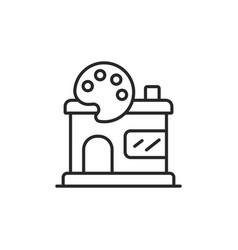 studio icon vector image
