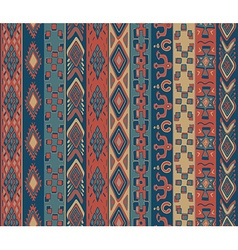 Tribal seamless pattern vector