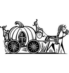 Cinderellas Carriage vector image