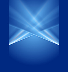 abstract deep blue gradient background vector image