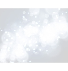 Light silver abstract Christmas background vector image vector image