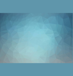 abstract dark blue polygonal which consist of vector image