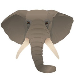 African elephant preview vector