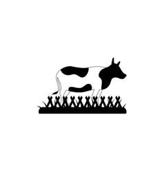 cow milk icon design template vector image