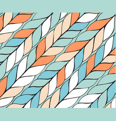Diagonal background pattern braids endless vector