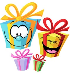 Gift - funny vector