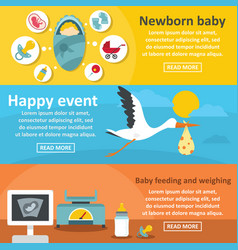 baby banners vector images over 12 000