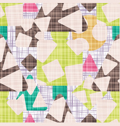 seamless pattern background textile vector image